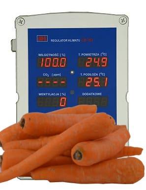Sterownik przechowalni warzyw i ziemniaków