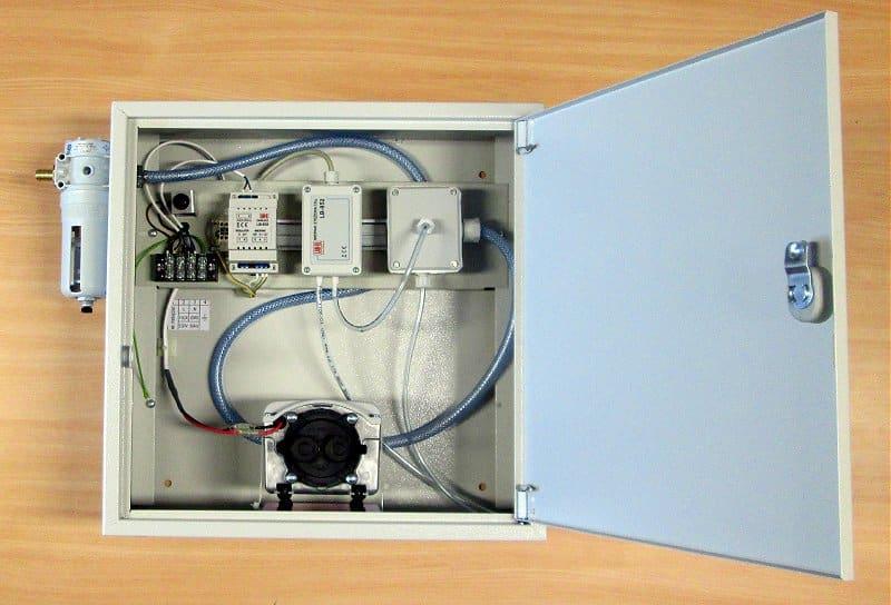 Skrzynka instalacyjna LB-769W do systemowego pomiaru CO2