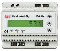 Miernik stężenia CO2 LB-850A, termometr, regulator