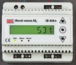 Sterownik CO2, miernik regulator dwutlenku węgla LB-850A