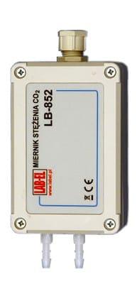 Miernik CO2, pomiar stężenia dwutlenku (ditlenku) węgla LB-852
