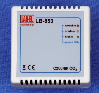 Miernik regulator stężenia dwutlenku węgla LB-853