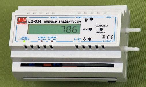 Miernik regulator stężenia CO2 LB-854