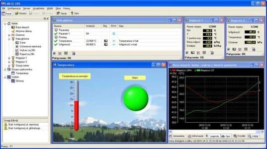 Oprogramowanie SCADA LBX