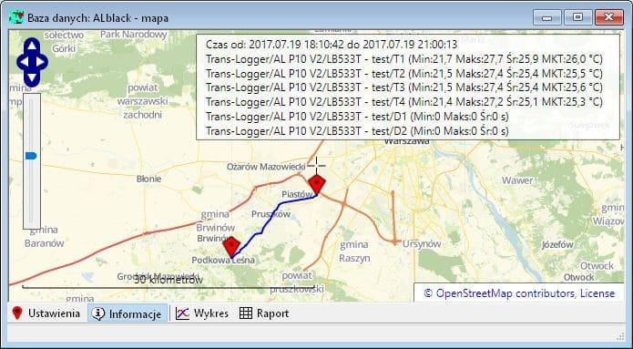 Przykładowa mapa programu LBX