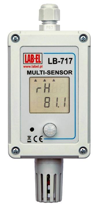 Termometr przemysłowy LB-717, higrometr przemysłowy, barometr