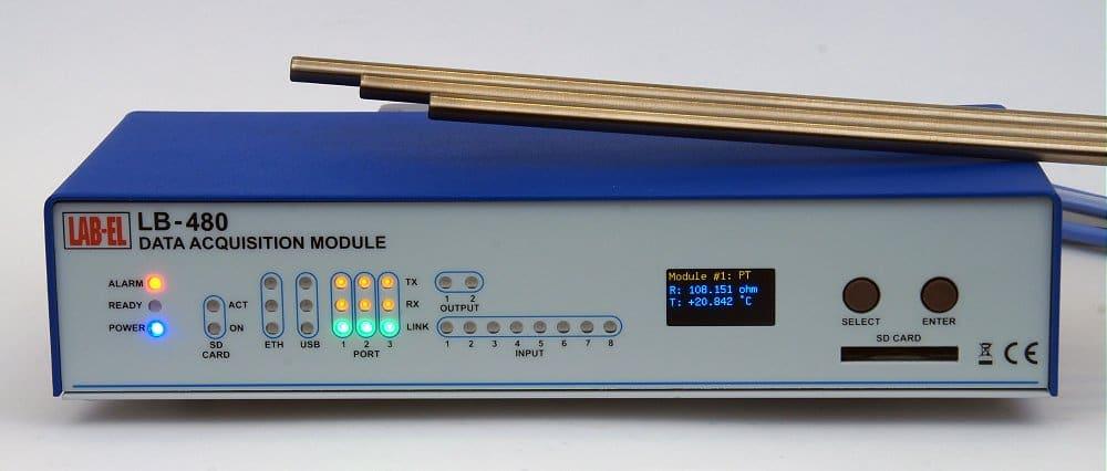 Precision Thermometer 0.001°C — LB-480 with LB-499-PT modules
