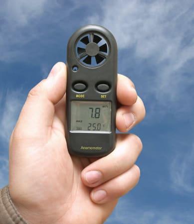 Pomiary prędkości przepływu gazów
