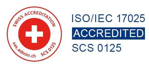 ISO/IEC 17025 Swiss Accreditation