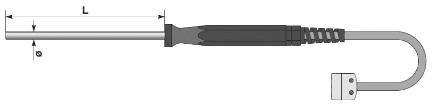 Termometr TA-PY z rączka silikonową.