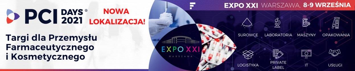 PCI DAYS 2021 - PHARMA COSMETIC INDUSTRY - Targi dla Przemysłu Farmaceutycznego i Kosmetycznego