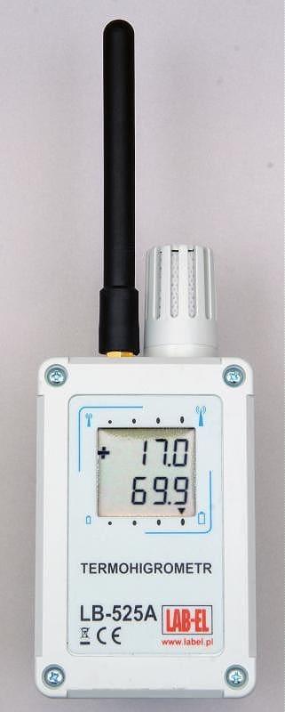 Bezprzewodowy termohigrometr LB-525A, bezprzewodowy rejestrator