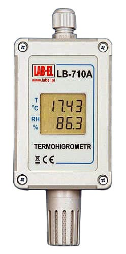 LB-710A industrial thermometer, industrial hygrometer
