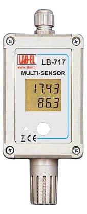 LB-717 - Multisensor, termometr, higrometr, barometr, światłomierz, czujnik ruchu