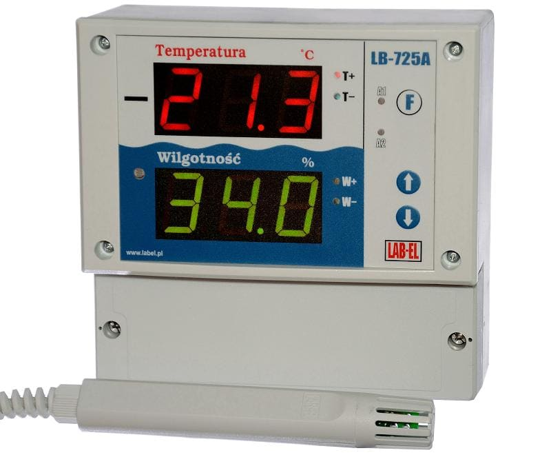 The hytherograph LB-701 with a control - reading panel LB-725