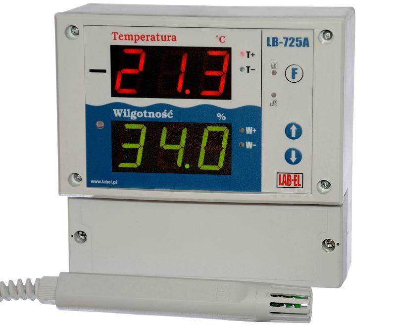 Regulator wilgotności i temperatury LB-725A