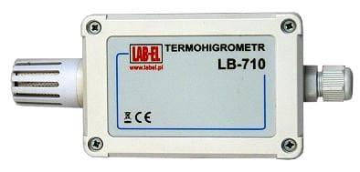 Termometr higrometr LB-710