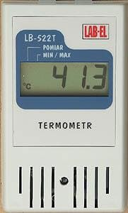 Termometr ze świadectwem wzorcowania LB-522T