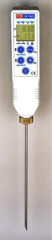 Termometr ręczny z sondą LB-560A
