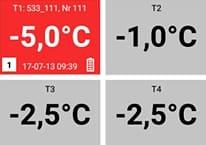 Trans-Logger 4 temperatures