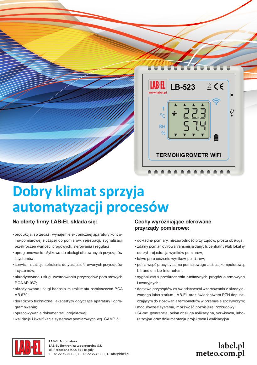 Dobry klimat sprzyja automatyzacji procesów