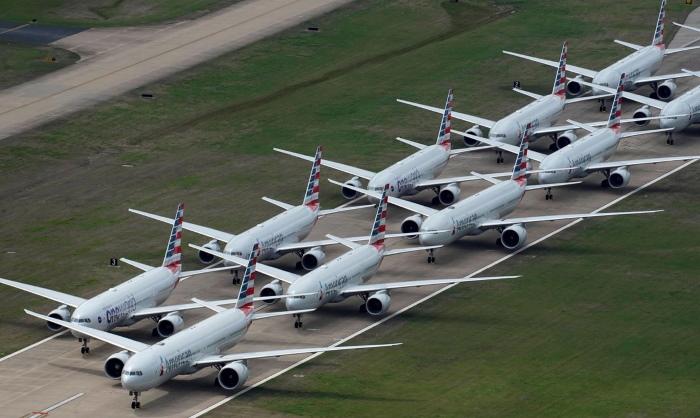 Uziemione samoloty