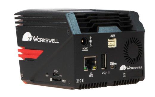 Kamera termiczna do skanowania  twarzy Workswell MEDICAS - widok z tyłu