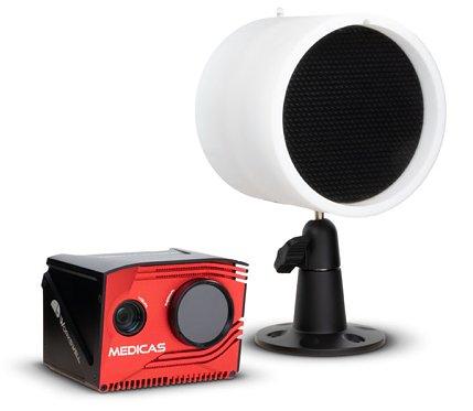 Kamera termiczna do skanowania  twarzy Workswell MEDICAS