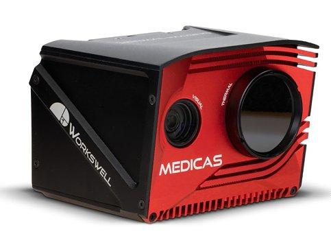 Kamera termiczna do skanowania  twarzy Workswell MEDICAS - widok z przodu