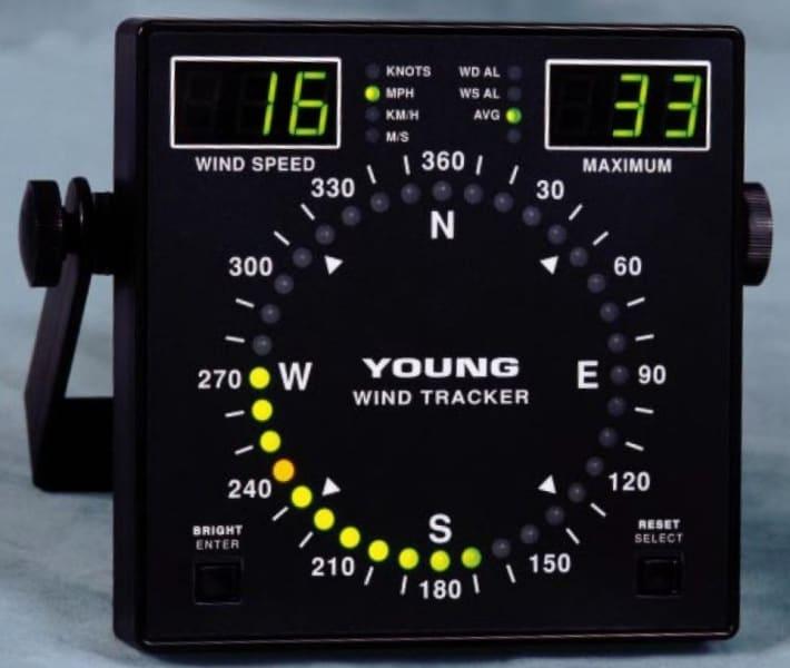 Wskaźnik prędkości i kierunku wiatru YOUNG Model 06201