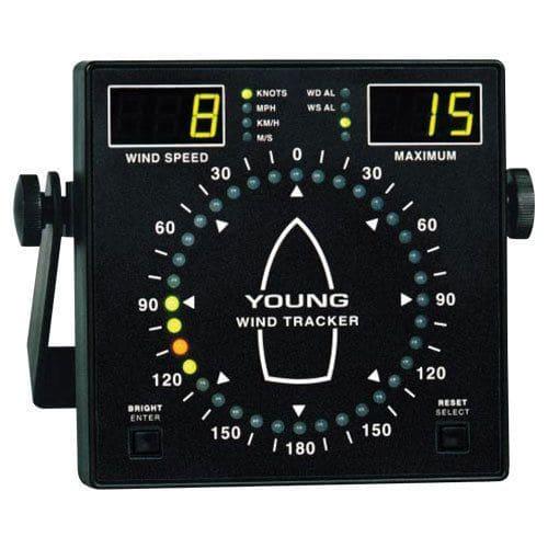 Morski wskaźnik prędkości i kierunku wiatru Marine Wind Tracker YOUNG 06206