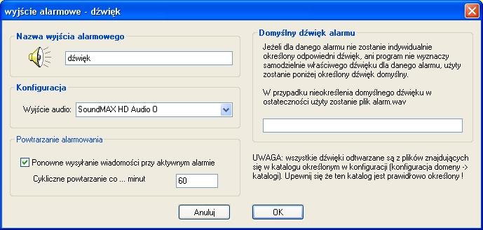 Alarm dźwiękowy