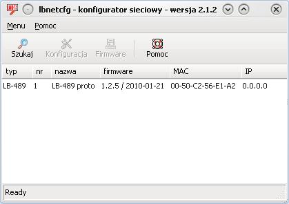 Konfiguracja rejestratora danych w sieci lokalnej