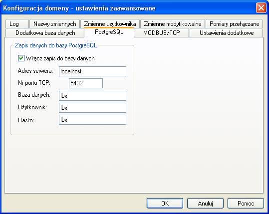 Serwer LBX - konfiguracja SQL